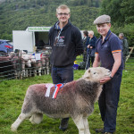 Supreme Champion Fell Sheep - David Bland (Photo Courtesy David)